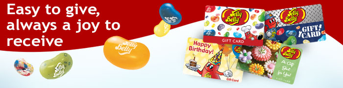 Jelly Belly Gift Cards