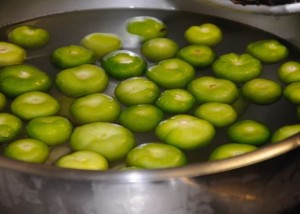 Limes, from teaching cooking classes