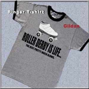 Roller-Derby-T-Shirt